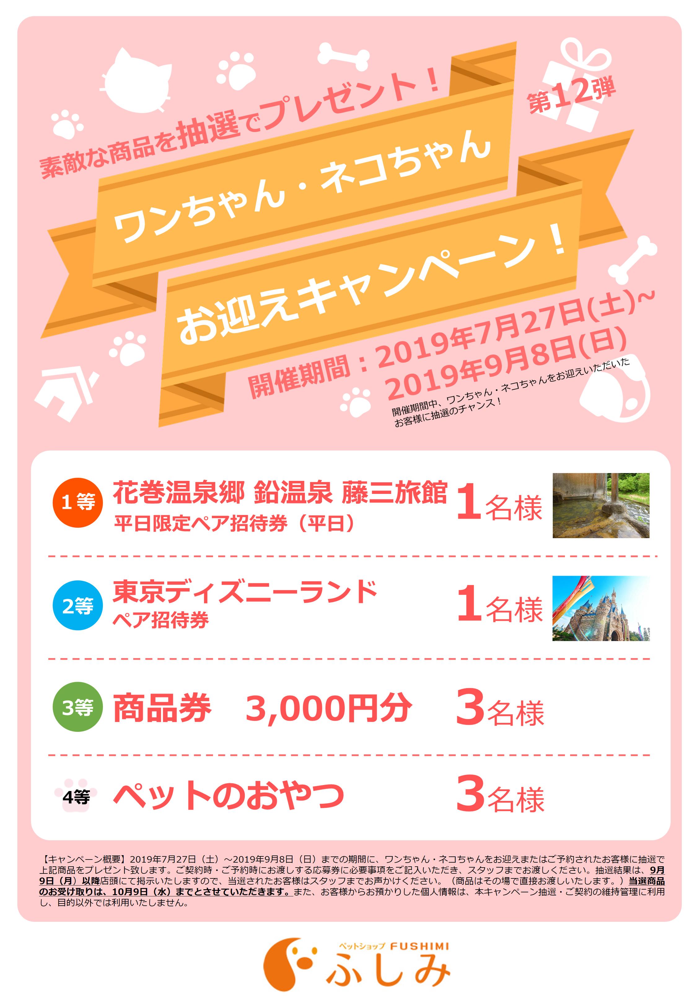 2019年・第12弾・お迎えキャンペーン開催・一関アミーゴ・ふしみ~・~7/27~9/8まで・第31回・TVCM放映・取材風景イベント