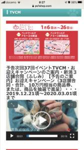 予告次回37回イベントTVCM・お迎えキャンペーンのご案内・新潟3店舗合同(ふしみ)